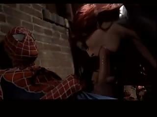 Spiderman défonce le cul de catwoman