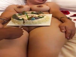 Un gâteau d'anniversaire très special