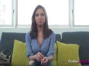 Le casting porno de Sara