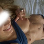 Photo sexy de ses jolis seins