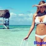 Kate Upton l'égérie d'un bikini mariage