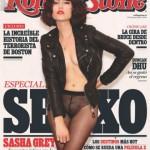 Sasha Grey pose en couverture de Rolling Stone Espagne