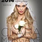 Clara Morgane : les premières images de son nouveau calendrier