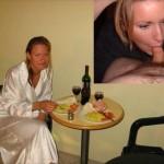 Mon ex copine Morgane en train de me sucer