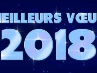 Je vous souhaite une bonne et heureuse année 2018 !